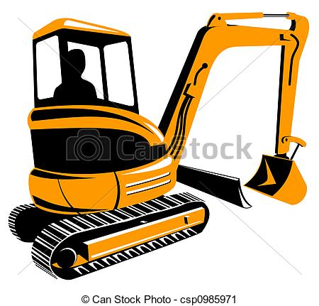450x431 Digger Illustrations And Clipart. 6,631 Digger Royalty Free