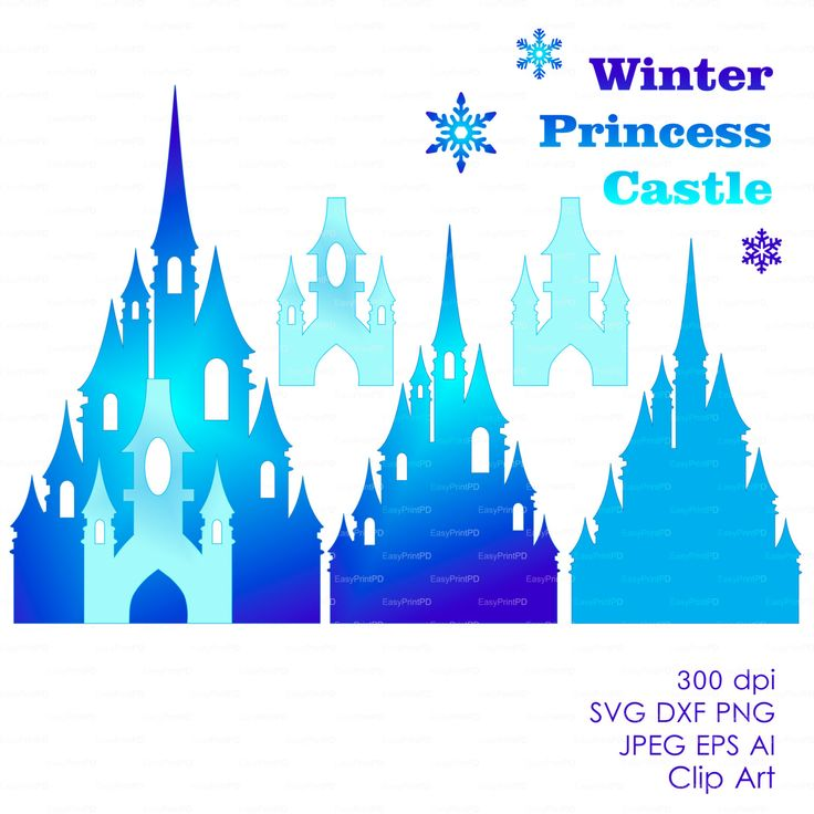 Frozen Castle Clipart