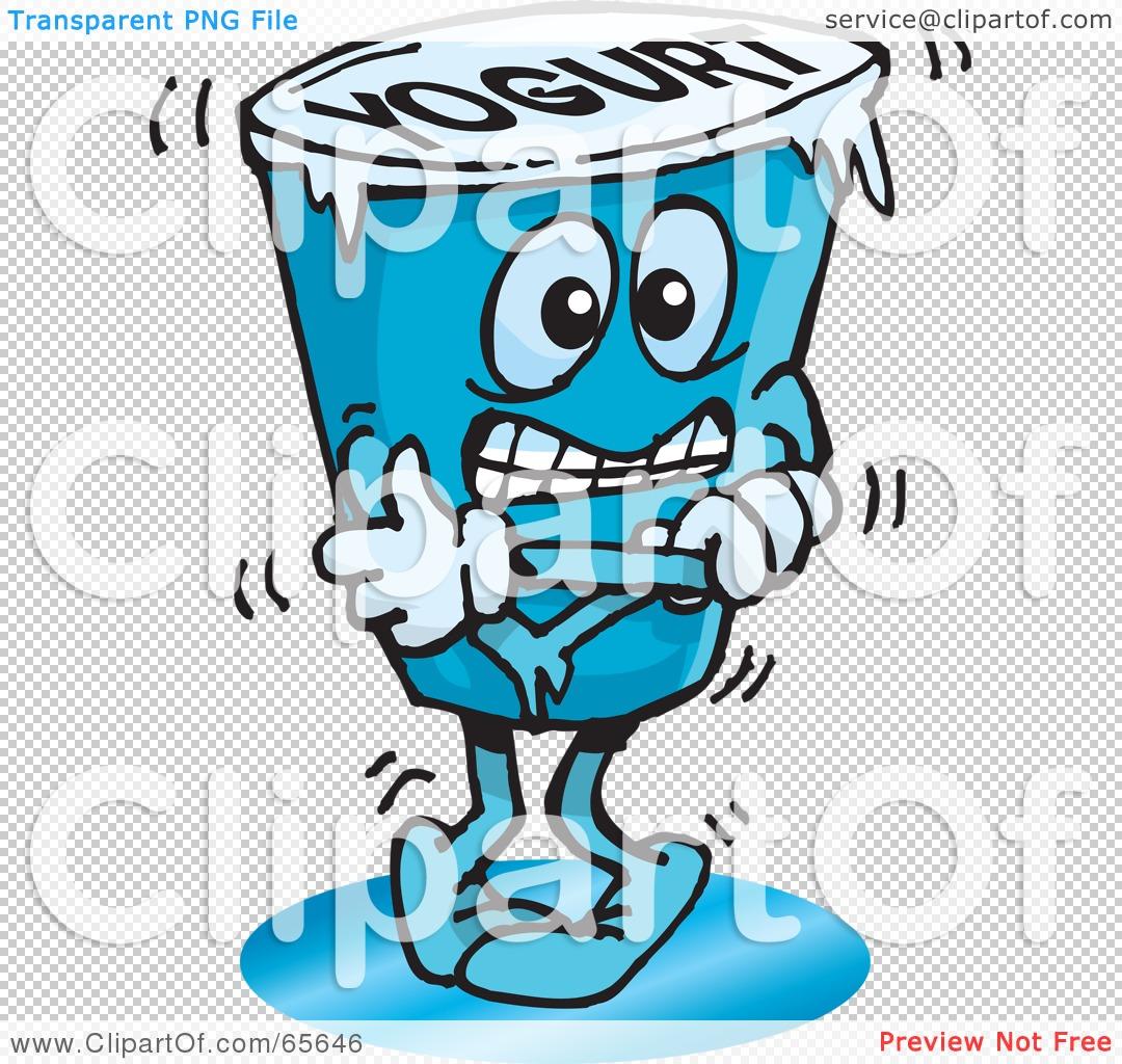 1080x1024 Royalty Free (Rf) Clipart Illustration Of A Cold Frozen Yogurt