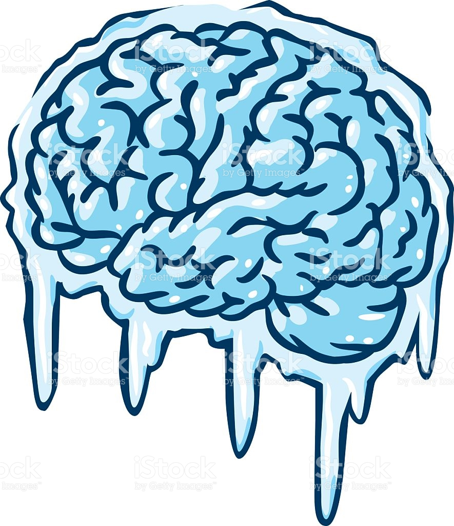 885x1024 Collection Of Brain Freeze Clipart High Quality, Free