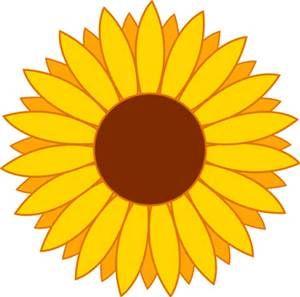 300x297 Sunflower Clip Art