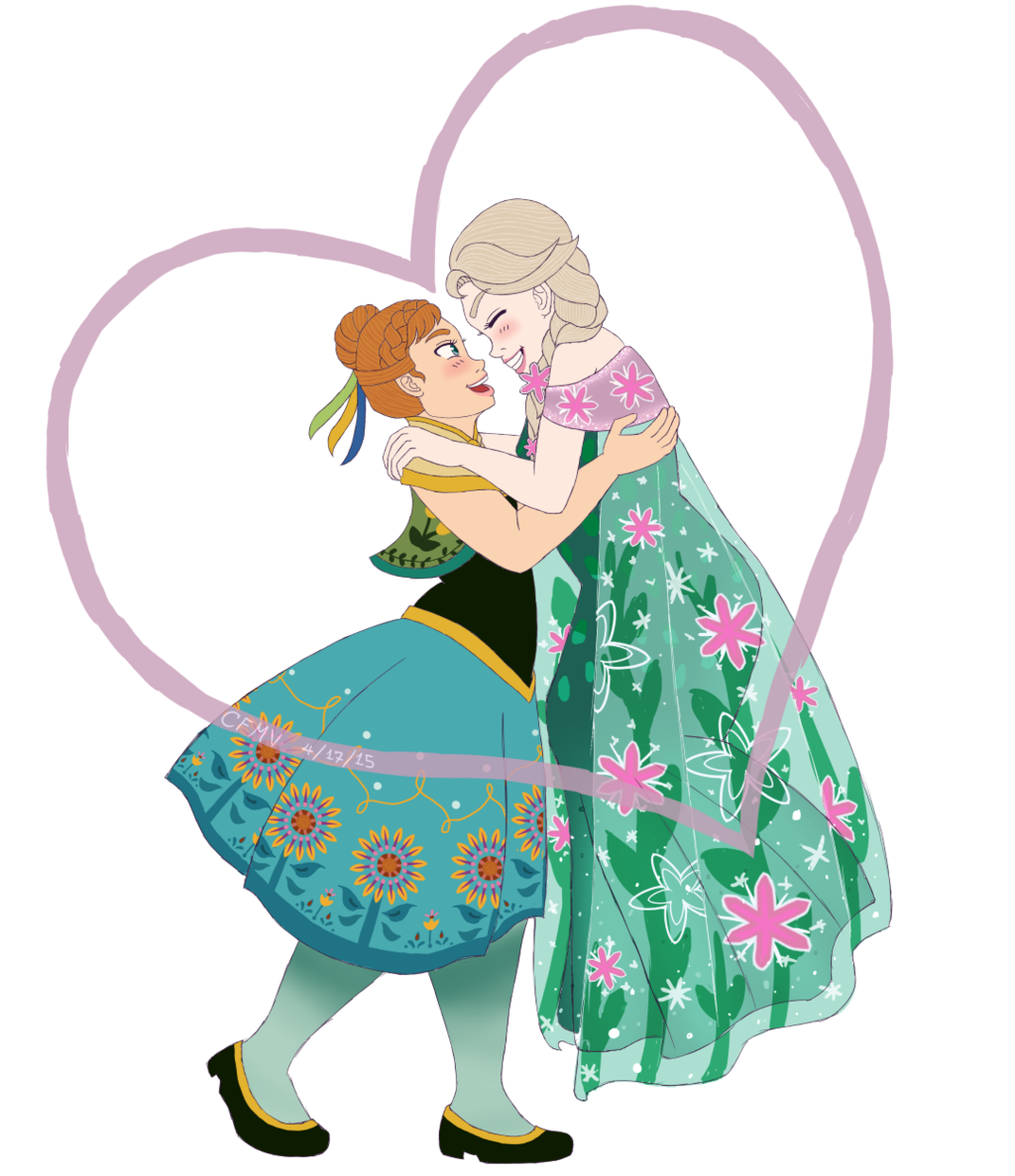 1024x1187 Frozen Fever Love By Cfmv