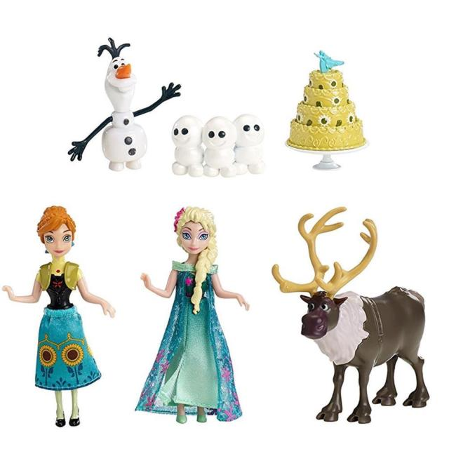 640x640 Mattel Dkc58 Disney Frozen Fever Birthday Party Set Ebay