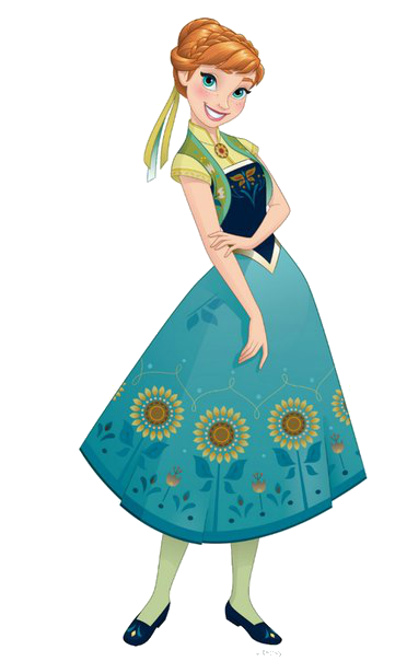 361x604 Anna Frozen Fever By Fenixfairy