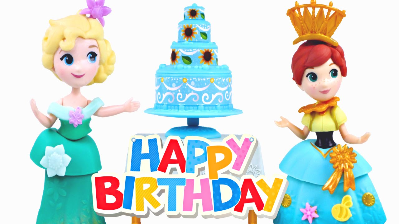 1280x720 Disney Frozen Little Kingdom Dolls Frozen Fever Celebration +