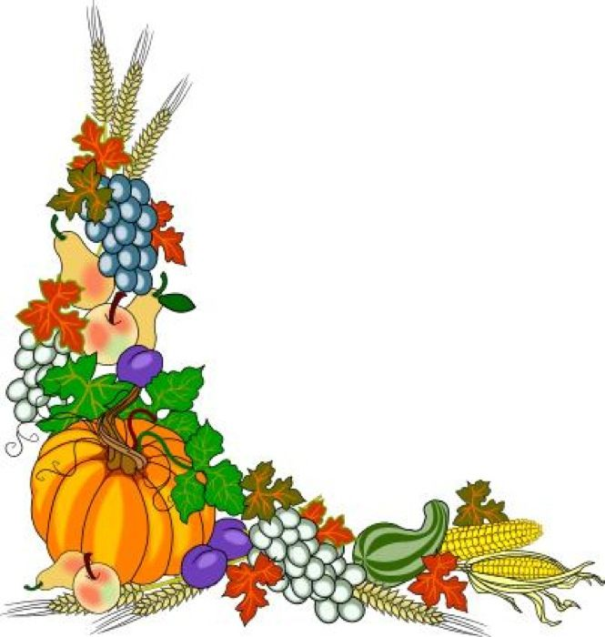665x700 Fruit And Vegetable Borders Clip Art 101 Clip Art