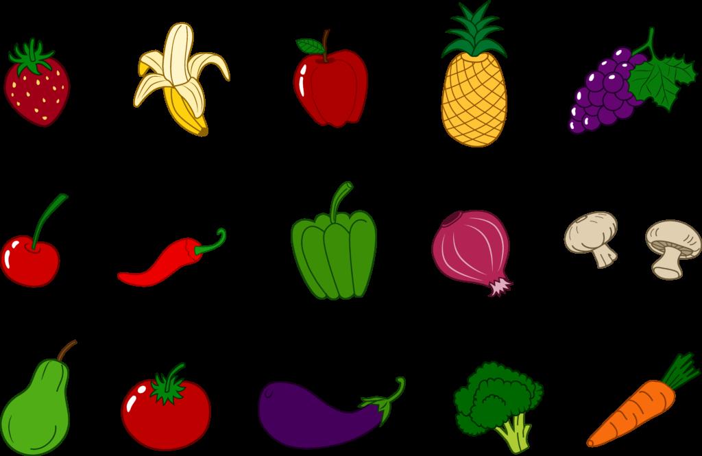 1024x665 Fruit Vegetable Clip Art