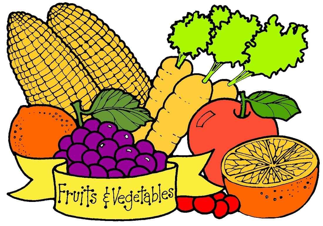 fruit and veggie clipart at getdrawings com free for personal use rh getdrawings com vegetables clipart black and white vegetable clipart images
