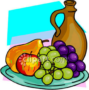 298x300 Plate Clipart Fruit Plate