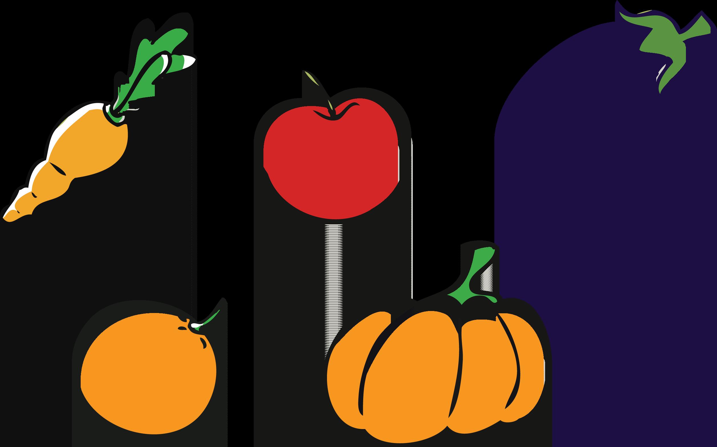 2515x1568 Apple Pumpkin Vegetable Clip Art