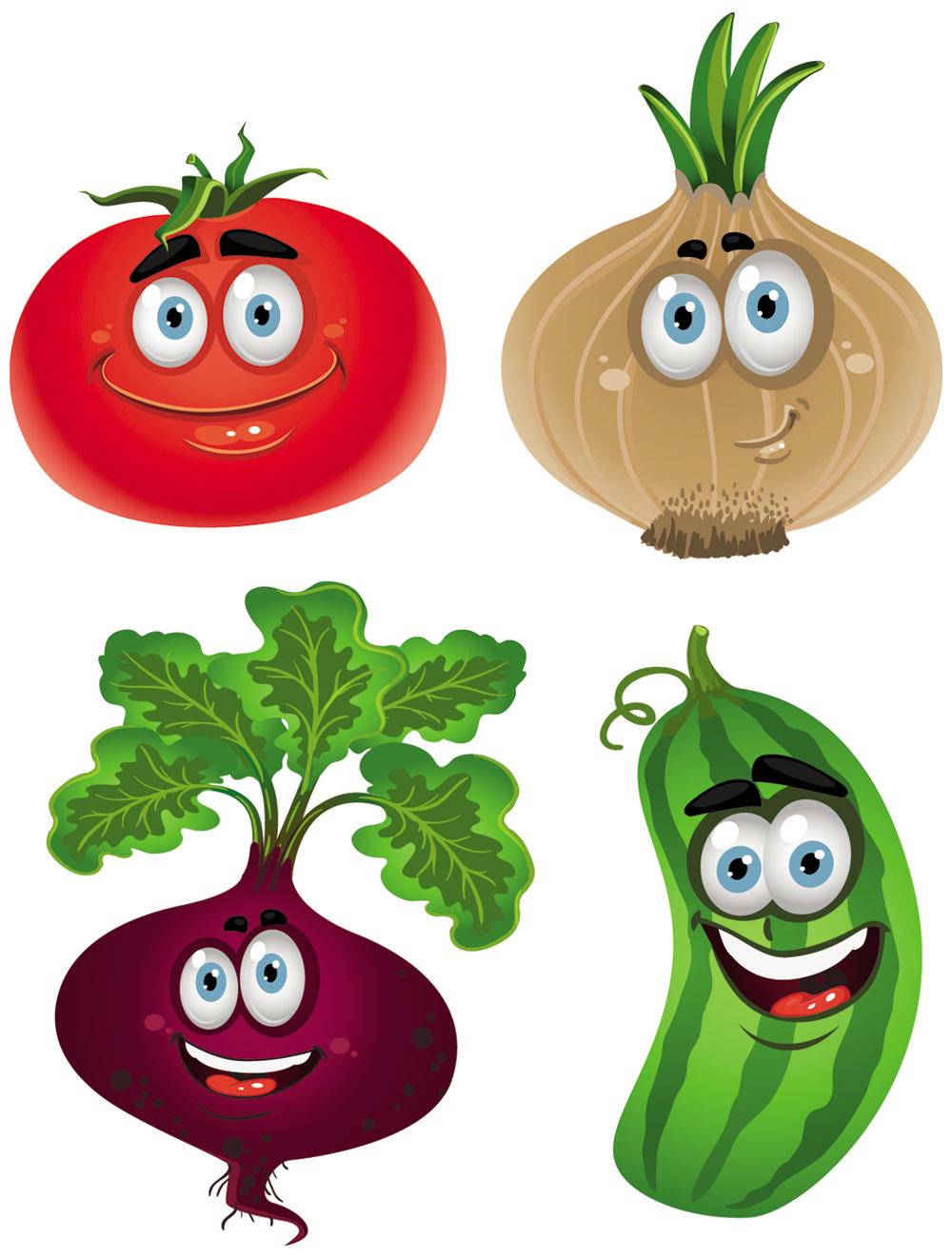 1000x1322 Cartoon Vegetable Clipart