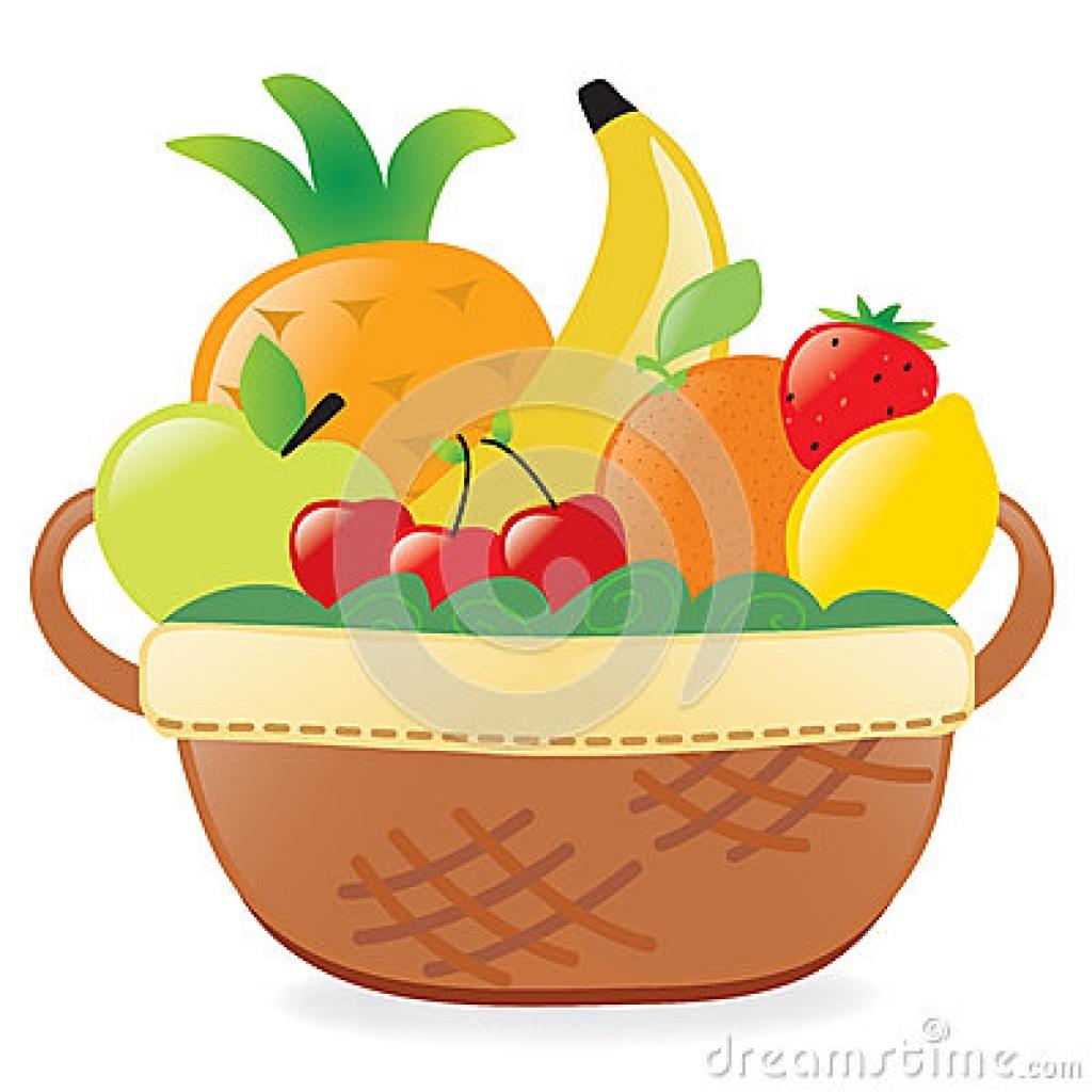 1024x1024 Clip Art Basket Of Fruits Fruits Basket Clipart Panda Free Images