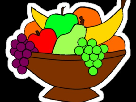 440x330 Coloring Pages Of A Bowl Of Fruit Az Coloring Pages, Cartoon Bowl