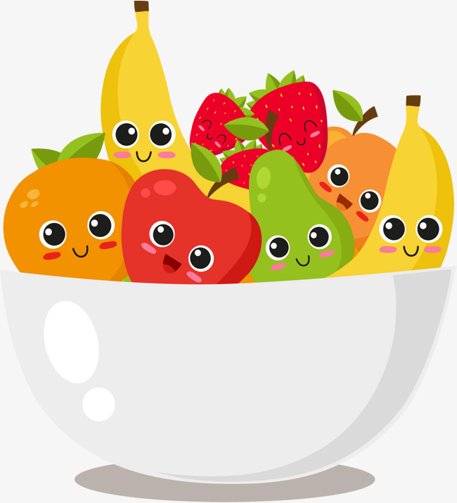 650x715 Bowl Of Fruit, Vector Material, Fruit Salad, Salad Bowl Png