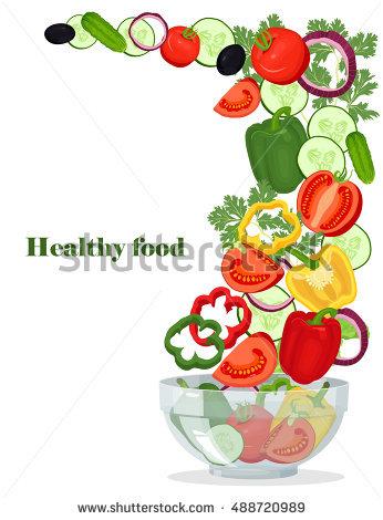 346x470 Fresh Clipart Salad Bowl