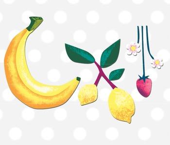 350x298 Fruit Clipart, Tropical Fruit Clip Art, Fruit Clip Art By Trinket