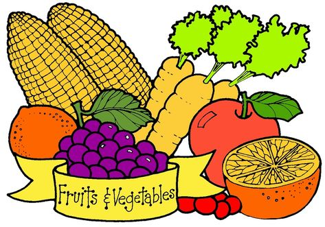 Fruits and vegetables clipart at getdrawings free for personal 473x331 fruits and vegetables clipart 100 best fruits veggies images on thecheapjerseys Images