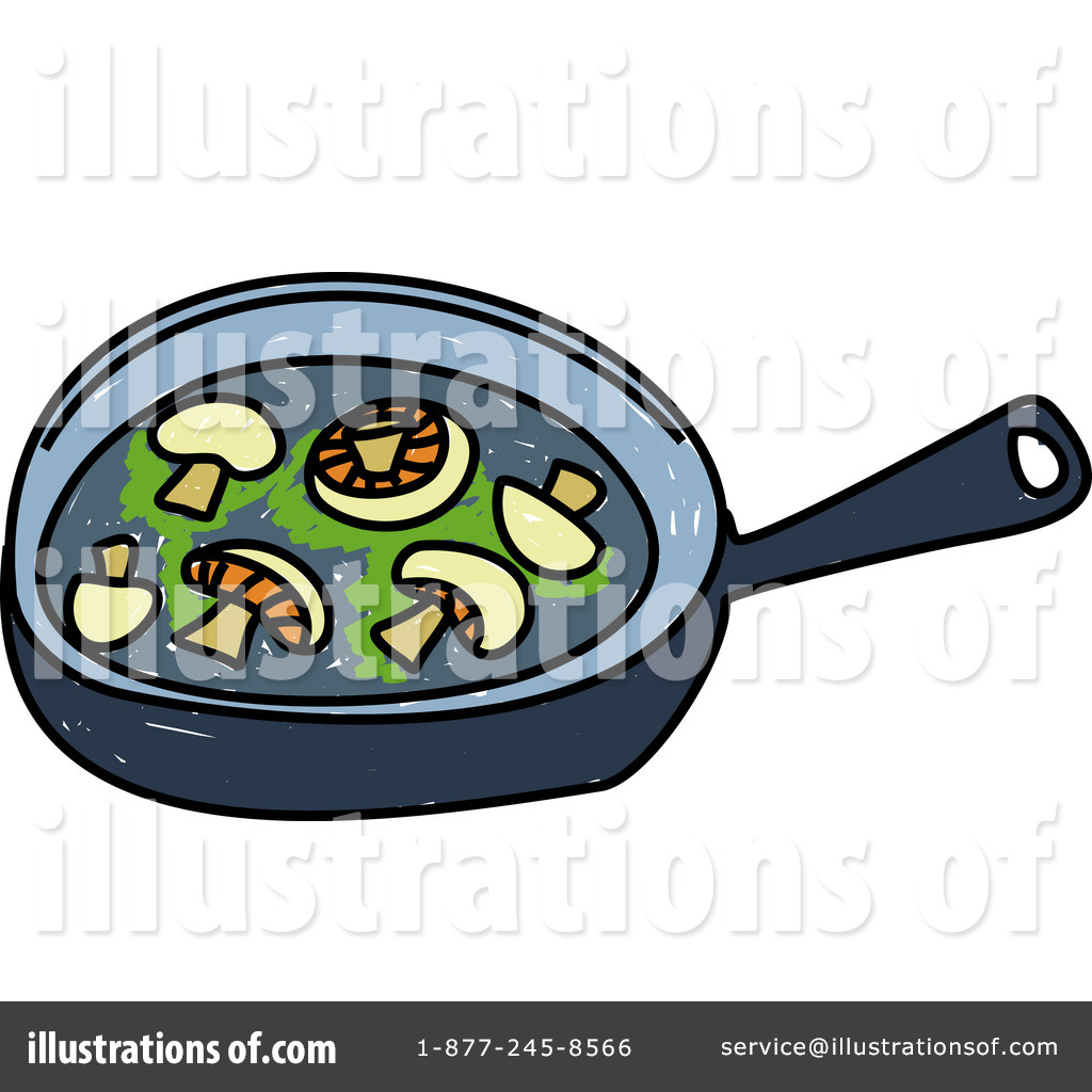 1024x1024 Frying Pan Clipart