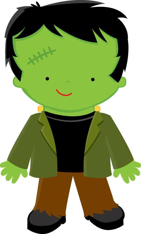 489x811 Frankenstein Clipart Full Body