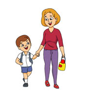 195x188 Free Family Clipart