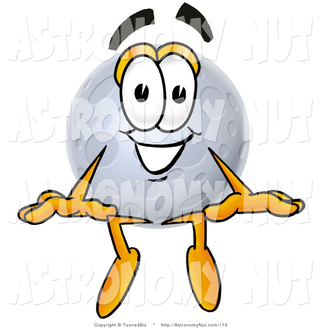 1024x1044 Clipart Of A Smiling Full Moon Mascot Cartoon Character Sitting By