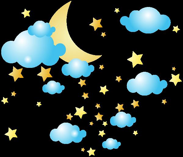 600x516 Full Moon Cloud Clip Art