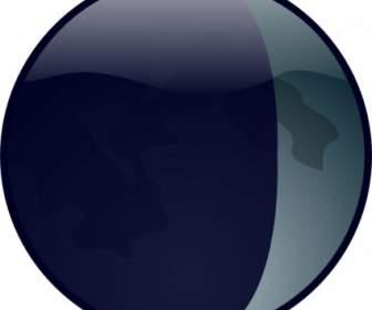336x280 Waxing Crescent Moon Clipart