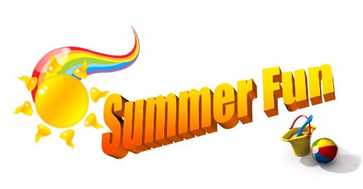 515x268 Summer Fun Clipart Image Of Clip Art Summer Fun 7145 Graphic Clip