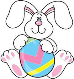 236x254 Easter Bunny Holding A Big Easter Egg. Easter Clipart Ideas