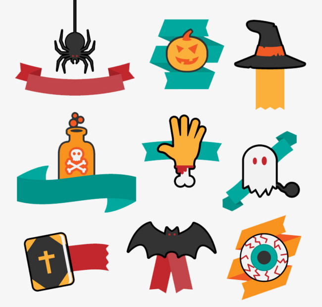 650x619 Funny Halloween Fun Color Elements, Funny, Halloween, Element Png