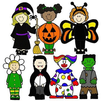 350x346 Halloween Clip Art Kids Fun For Christmas
