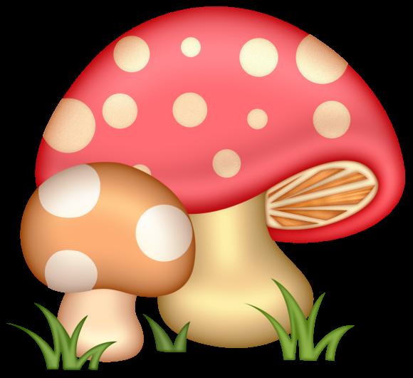 580x530 Clip Art Mushrooms And Clip Art