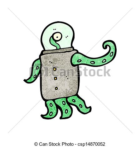 449x470 Cartoon Weird Alien Clipart Vector