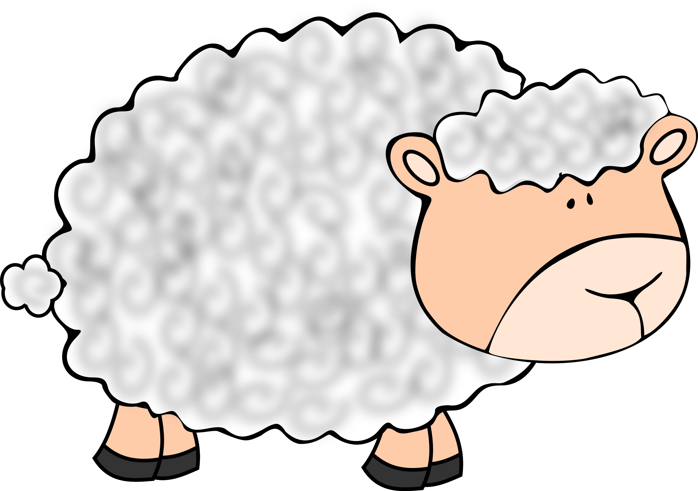 2400x1688 Sheep Wool Clipart Amp Sheep Wool Clip Art Images