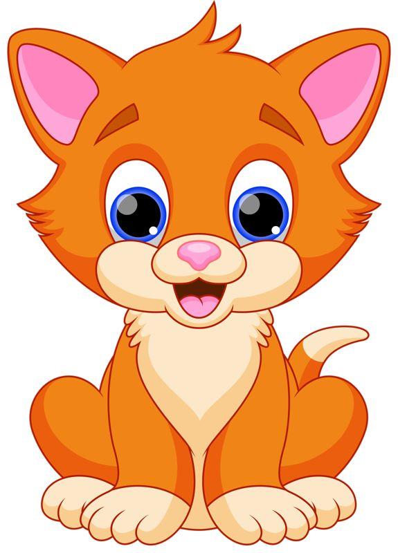 Funny Cat Clipart