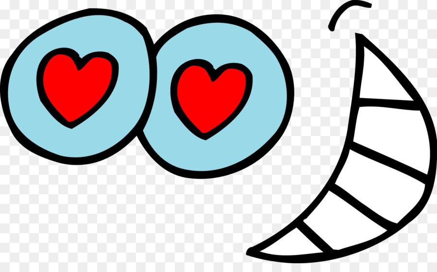 900x560 Eye Heart Smiley Clip Art