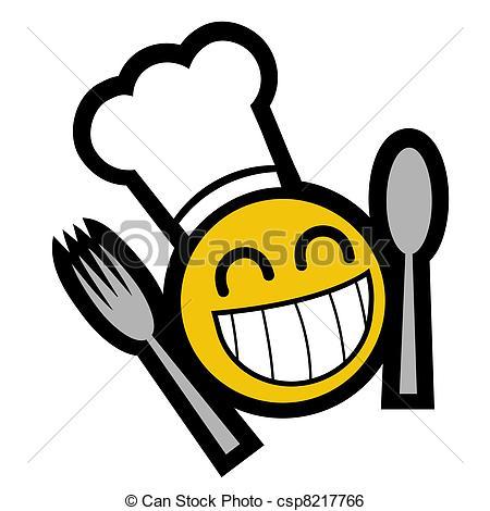 450x470 Funny Design Of Smile Chef Clip Art Vector