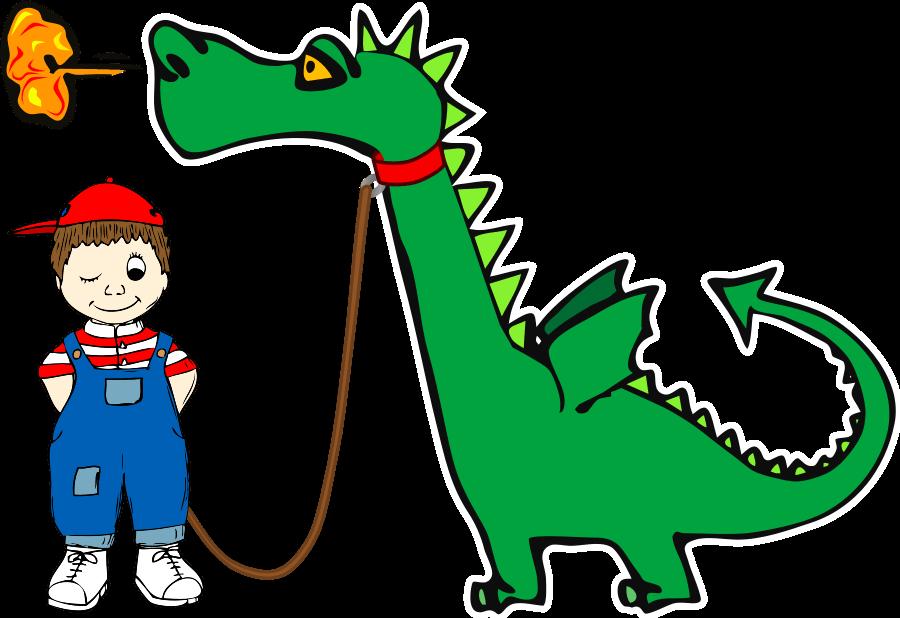 Funny Dragon Clipart