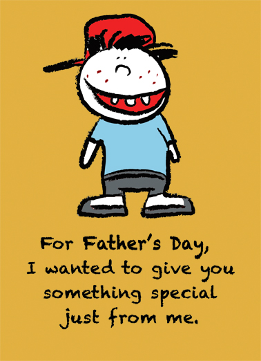 378x522 Funny Father's Day Card