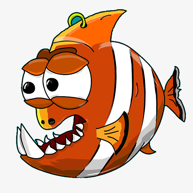 640x640 Funny Fish, Exaggeration, Cartoon, Fish Png Image And Clipart