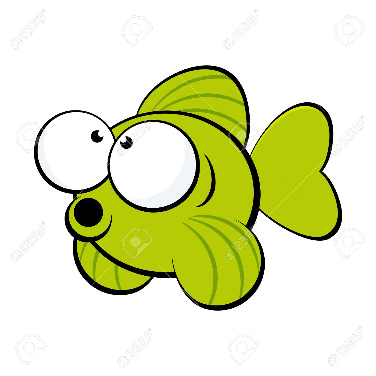 1300x1300 Launching Cartoon Pic Of Fish Funny Royalty Free Cliparts Vectors