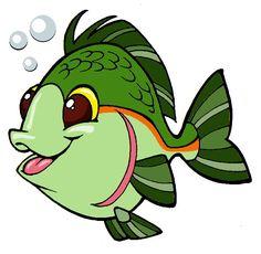 236x230 Funny Cartoon Fish
