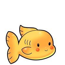220x220 Chic Inspiration Gold Fish Clip Art Goldfish At Clker Com Vector