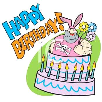 350x350 Animated Happy Birthday Free Clip Art Cake Collection Sellit