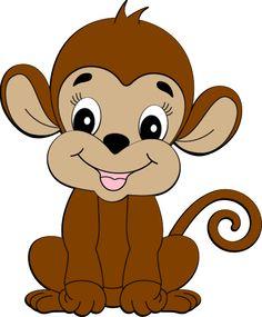 236x285 Cute Cartoon Monkeys Monkeys Cartoon Clip Art Cartoon Images