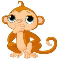 236x236 Cute Funny Cartoon Baby Monkey Clip Art Images. All Monkey Cartoon