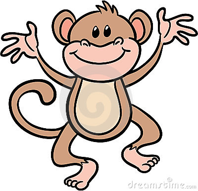 400x386 Funny Monkey Clip Art Clipart Panda