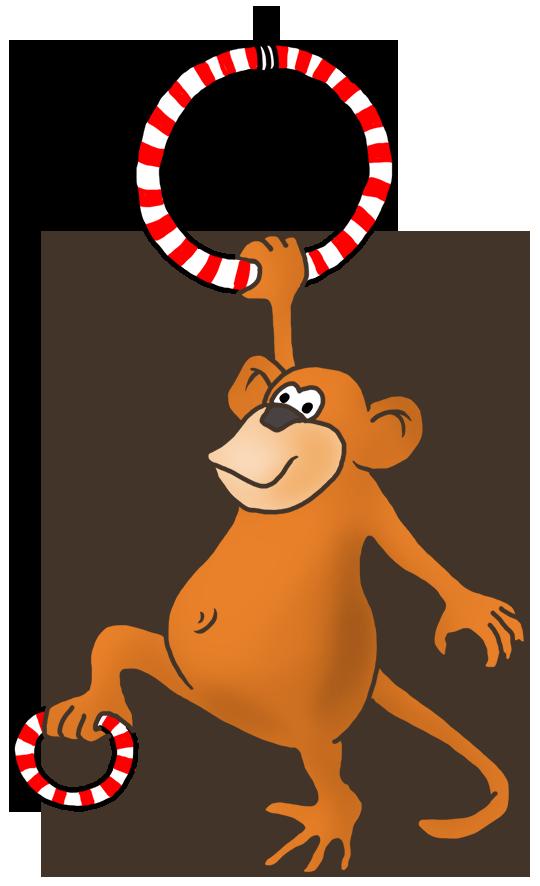 540x886 Funny Monkey Drawings