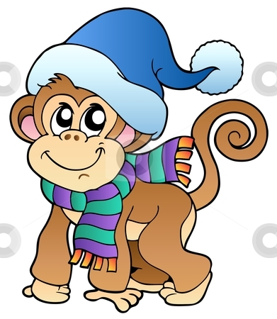 391x450 Funny Monkey Pictures Clipart