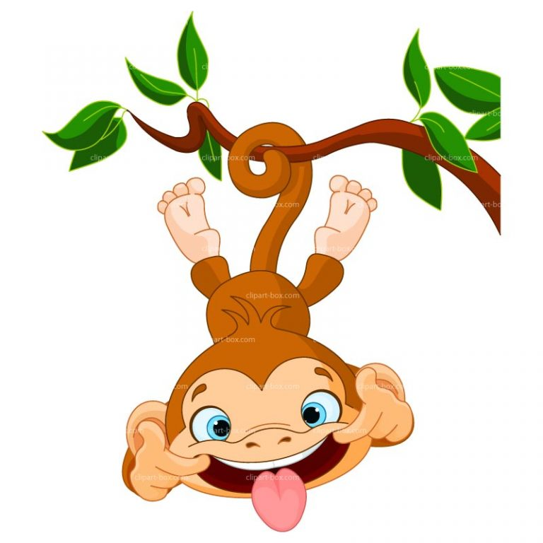 768x768 Free Funny Clipart Funny Monkey Clip Art Free Clipart Images